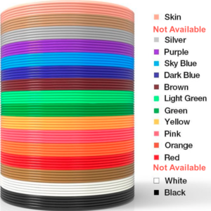 NEW PREMIUM ABS 3D Filament (1.75mm)