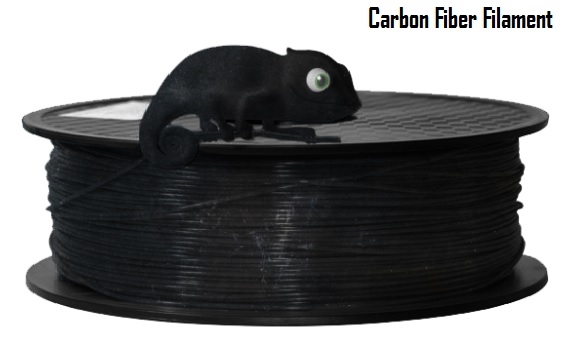 Special Customize Carbon Fiber Black 3D Filament(1.75mm)