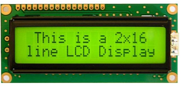 1602 LED LCD Arduino