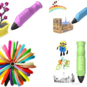 3D Printing Drawing Pen Low Temperature Modeling PCL Filament Arts Printer