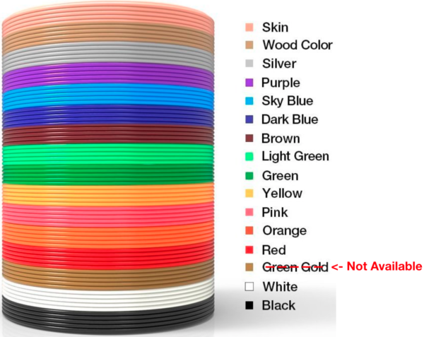NEW PREMIUM PLA 3D Filament (1.75mm)