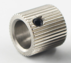 MK7 MK8 40 tooth stainless steel extruder feed wheel