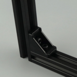 3030 Angle Bracket (Only Black)