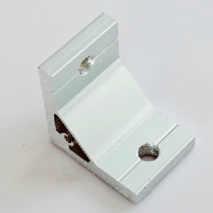 90 Degree Inside Corner Bracket Aluminium Extrusion Support Connector For Aluminum Profile 2020