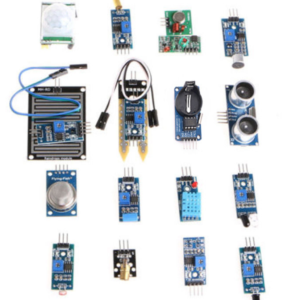 16 Pcs Sensor Set For Arduino + Arduino Uno