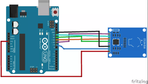 MFRC-522 For Arduino
