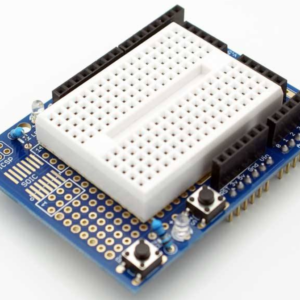 Arduino UNO R3 Proto Shield Kit with Mini Breadboard