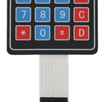 4*4 Matrix Array/Matrix Keyboard 16 Key Membrane Switch Keypad for arduino 4X4 Matrix Keyboard