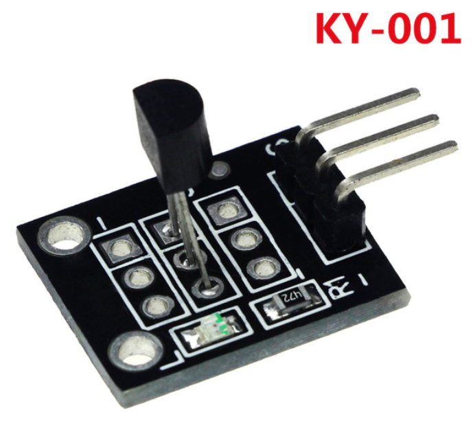 Temperature sensor module KY-001 for Arduino