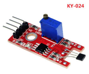 KY-024 Hall Magnetic Standard Linear Module For Arduino