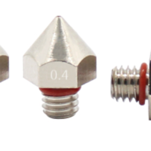 0.3/0.4/0.5mm Nickel-Plated Nozzle Extruder Print Head For 3D Printer 1.75mm