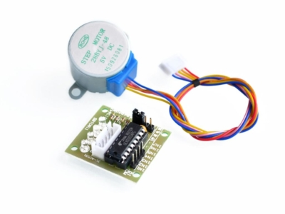 5V 4-PHASE DC GEAR STEPPER STEP MOTOR + DRIVER BOARD