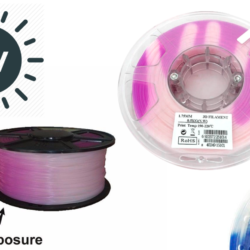 UV Color Changing Filament (PLA/ABS)