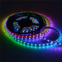 SMD5050 RGB LEDs embed(Built-in) integrated WS2811 control ICs